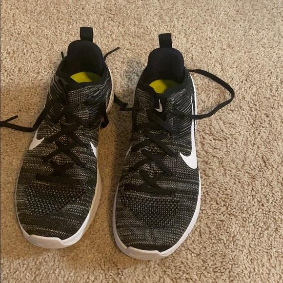 Fashion Nike Free TR Fit 3 Breathe Stripe Womens shoes Black